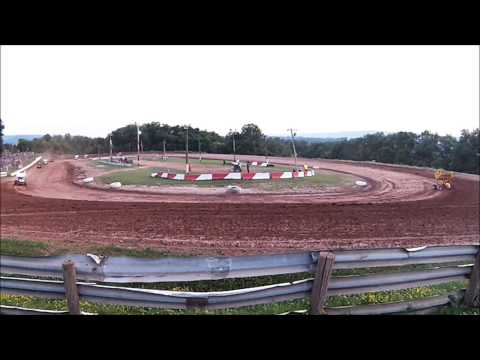 Clinton County Raceway - 305 Sprints, Heat race