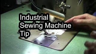 Industrial Sewing Machine Tip - Christopher Nejman