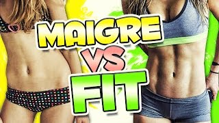 Etre MAIGRE & Etre FIT : La DIFFÉRENCE by Bodytime