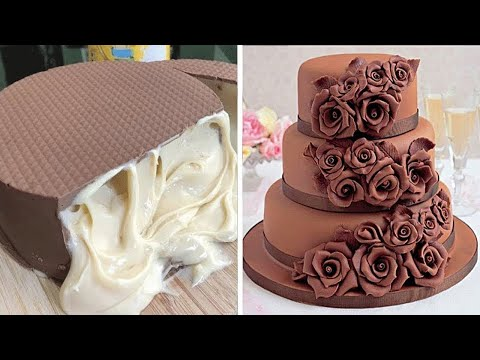 10 Delicious Chocolate Cake Ideas   So Yummy Cake Decorating Recipes   Yummy Cookies