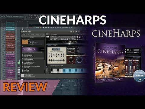 Sample Library Review - CineHarps | Orchestral Harps Library