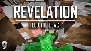 Ftb Revelation Ep9 Building Time + Animal Farm Automation