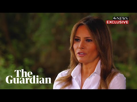 Melania Trump: I'm 'the most bullied person'