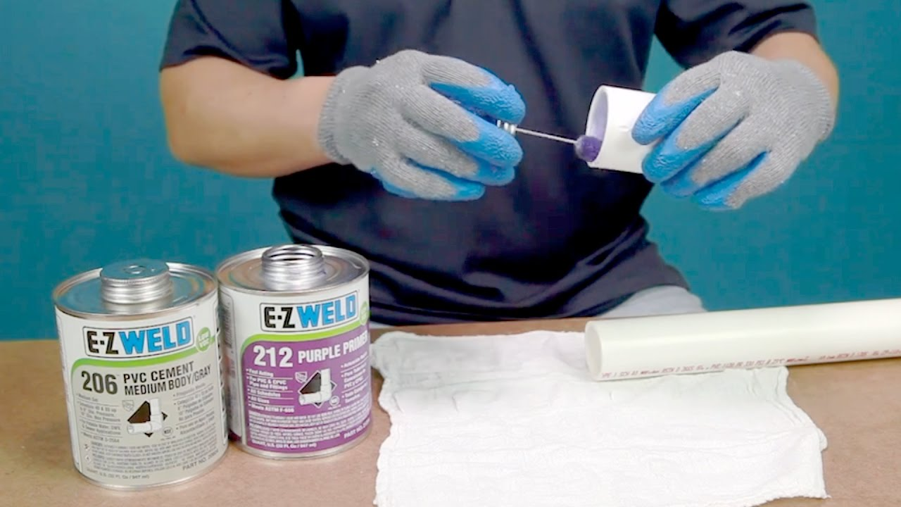 E-Z weld : HowTo Solvent Weld with E-Z Weld Products