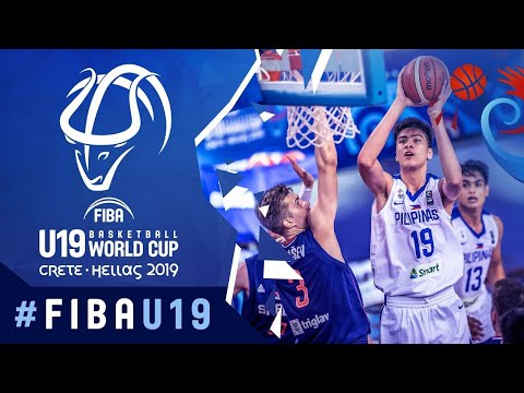 Serbia def. Gilas Pilipinas Youth, 87-60 (REPLAY VIDEO) 2019 FIBA U19 World Cup - Round of 16