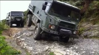 Wales Pinzgauer Military Off Road Vehicle Green Laning and Off Roading
