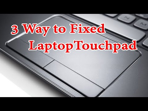 How To Fix Laptop Touchpad Not Working 2020