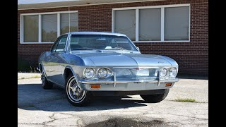 1965 Chevrolet Corvair Corsa cold start and drive