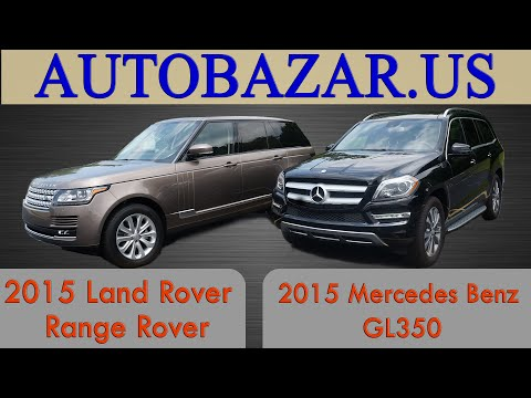 Land Rover Range Rover VS Mercedes GL 350 2015. Тест драйв Рендж Ровер 2015 и Мерседес GL 350 2015