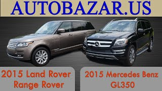 Land Rover Range Rover VS Mercedes GL 350 2015. Тест драйв Рендж Ровер 2015 и Мерседес GL 350 2015(, 2015-09-11T20:44:29.000Z)