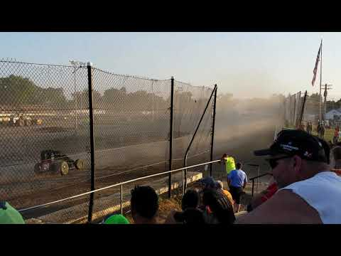 Fremont Speedway BOSS Heat Race 7/13/2019