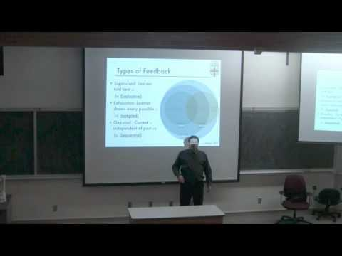 Michael Littman's Talk on Reinforcement Learning from Users: New Algorithms and Frameworks