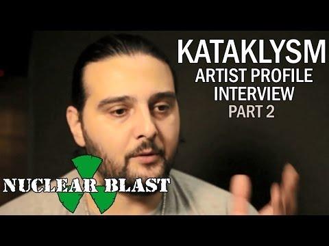 KATAKLYSM - Artist Profile Interview W/ Maurizio Iacono (PART 2)