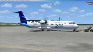 flight simulator atr 72 600 garuda indonesia test turbine sound studios 1