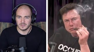 How Elon Musk DIDN'T Smoke Weed on Joe Rogan