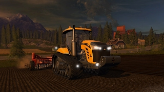 Играем в Farming Simulator 17!!! Дары Кавказа 2.0.3 (бригада Boldin)