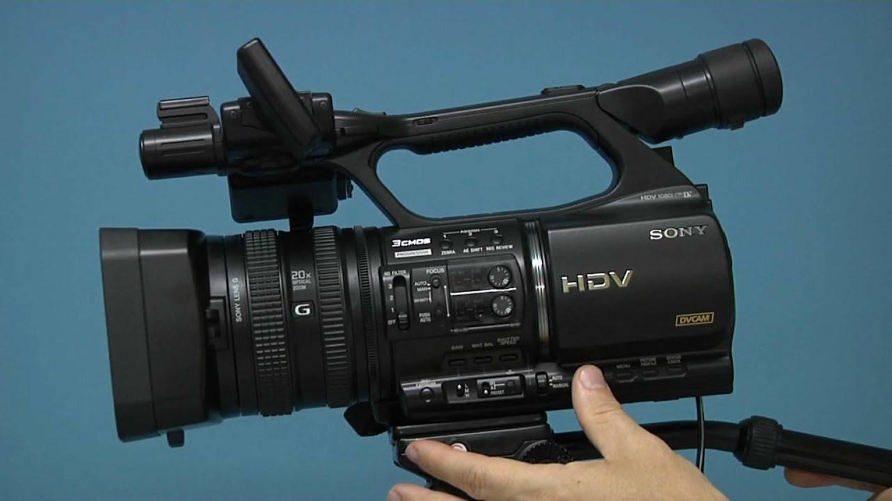 sony hvr z5 youtube rh youtube com sony hdv 1080i mini dv user manual sony hdv 1080i mini dv user manual