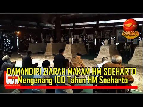 DAMANDIRI ZIARAH MAKAM HM SEOHARTO