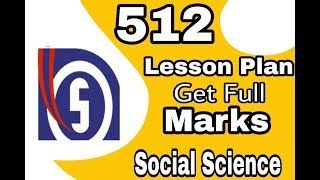 NIOS Dled lesson plan on social science download free pdf file for