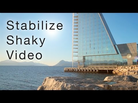 Stabilize Shaky Video - Easy Tutorial in Premiere Pro - YouTube