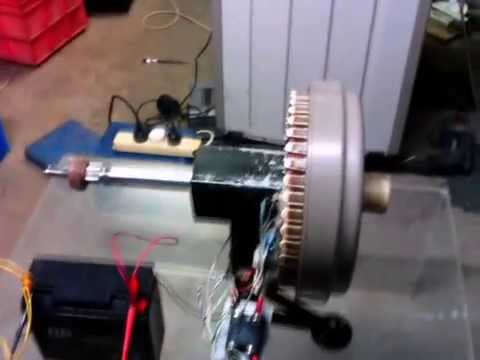 DC pulsed motor conversion fisher paykle