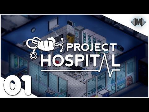 Project Hospital ★ #01 Unser kleines Krankenhaus ★ [Deutsch German Gameplay]