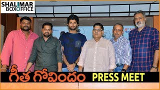 Geetha Govindam Movie Press Meet About Piracy | Vijay Deverakonda,Rashmika Mandanna