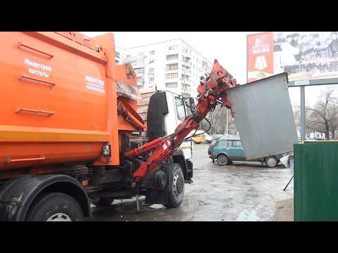 В Волгограде процесс уборки мусора становится в два раза быстрее