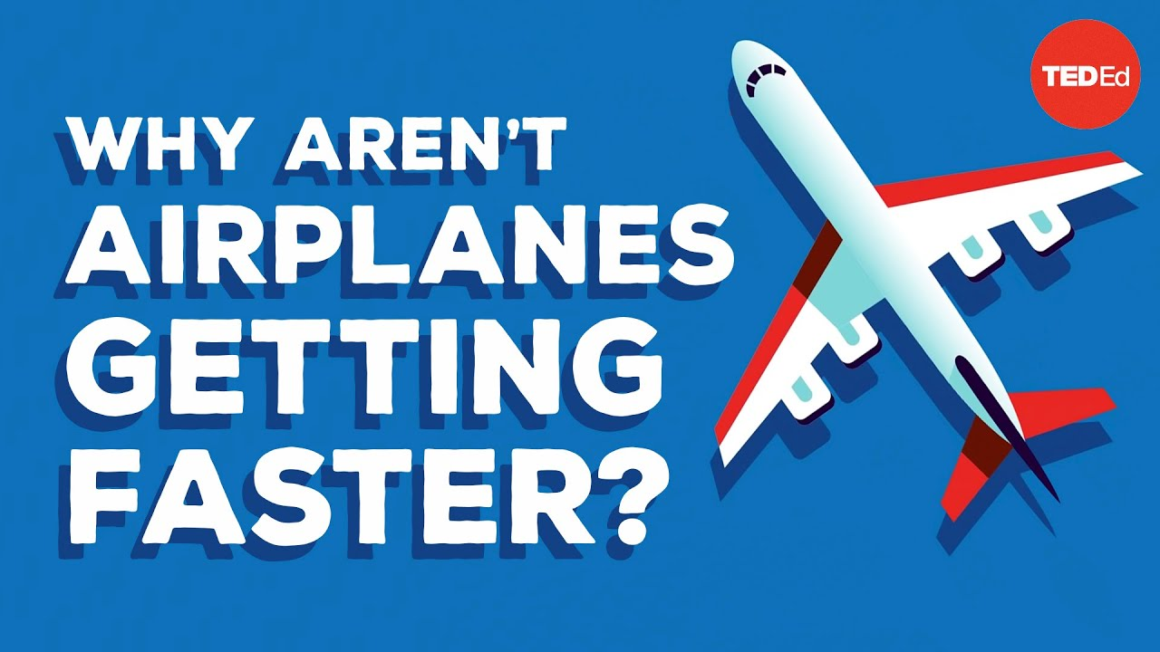 Why are airplanes slower than they used to be? - Alex Gendler
