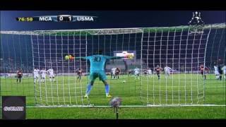 هدف اتحاد العاصمة الثاني ضد مولودية الجزائر كأس السوبر USMA 2-0 MCA HD 2016