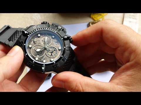 525283110b7 Relógio Invicta 0738 Subaqua Noma B. Ouro 100% Original by Watches ...