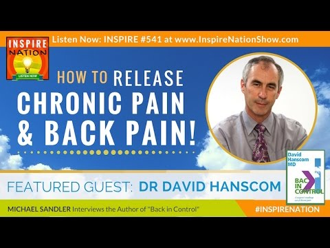 🌟 DR DAVID HANSCOM: How to Release Chronic Pain & Back Pain - FOR GOOD! | Back in Control