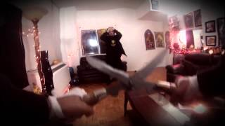Jontron - Scissorman fight [Clock Tower]