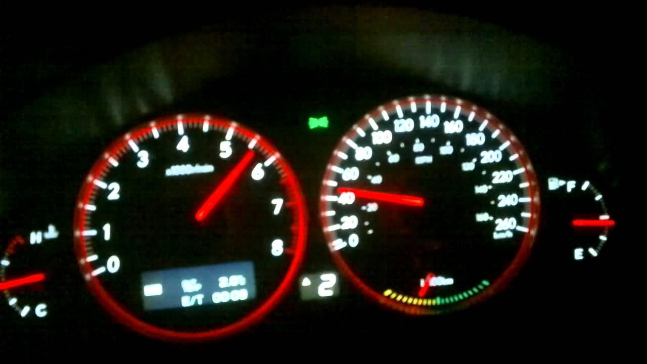 0 60 2007 Subaru Legacy Gt Stage 1