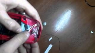 Как сделать светящиеся фары на игрушечную машинку