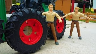 BRUDER toys wheels delivery for Tractor NEWS 2016