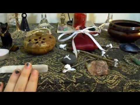 Introduction & Pagan Altar Setup