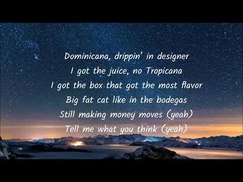 Jennifer Lopez - Dinero  English Lyrics ( Ft. DJ Khaled, Cardi B )