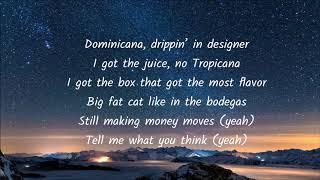 Jennifer Lopez - Dinero  English lyrics ( ft. DJ Khaled, Cardi B ) Mp3