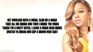 Trina - Nasty Bitch (Lyrics - Video)