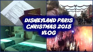 Disneyland Paris Christmas 2015 (Travel and Arrival)