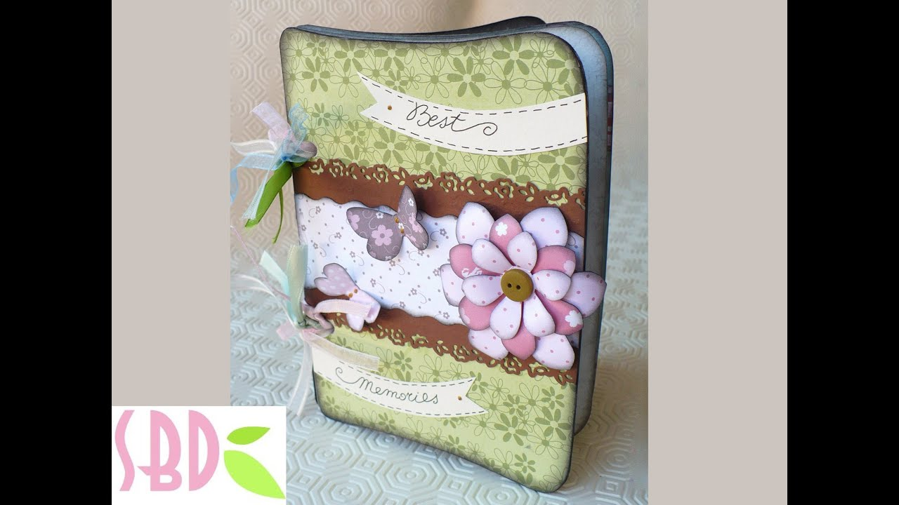 Molto Scrapbooking Tutorial: Album dei ricordi - Memories album - YouTube BF31