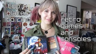 Top 4 Places to Find Retro Games and Consoles