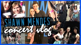 Shawn Mendes Concert Vlog! ♡ Meeting Shawn, Concert Footage, +More!