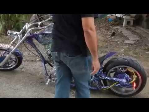 รถเครื่องยิงเฟรม motocycle
