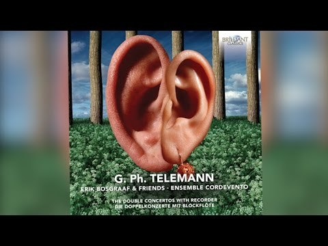 Telemann: The Double Concertos with Recorder (Full Album) played by Erik Bosgraaf