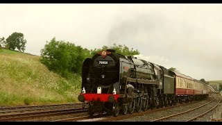 """Brittania"" Belts Through Kirkby Thore, and Storms Kirkby Stephen!"