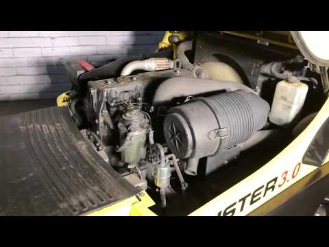 Японский дизельный двигатель Yanmar вилочного погрузчика Hyster