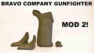 BCM Gunfighter Mod 2! Modular Steep Angle Grip