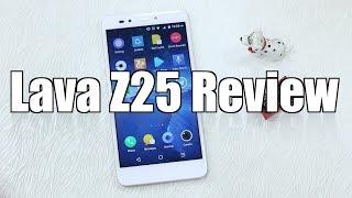 Lava Z25 Review